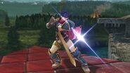 Contrataque de Ike (pose) SSB4 (Wii U)