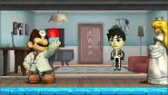 Créditos Modo Leyendas de la lucha Dr. Mario SSB4 (3DS)