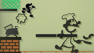 Créditos Modo Leyendas de la lucha Mr. Game & Watch SSB4 (Wii U)