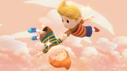 Créditos Modo Senda del guerrero Lucas SSB4 (Wii U)