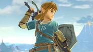 Link en la Torre de la meseta SSBU