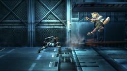 Snake Ataque Fuerte Lateral, segundo golpe-SSBB