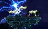 Efecto de Ramuh en Midgar (3) SSB4 (3DS)