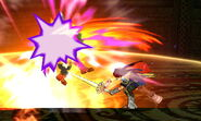 Golpe Crítico Roy (6) SSB4 (3DS)