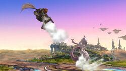 Lanzamiento hacia atrás Mewtwo (3) SSB4 (Wii U)