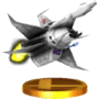 Trofeo de Great Fox SSB4 (3DS)