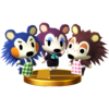 Trofeo de Hermanas Manitas SSB4 (Wii U)