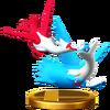 Trofeo de Latias y Latios SSB4 (Wii U)