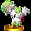 Trofeo de Shaymin SSB4 (3DS)