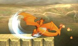 Ataque normal de Charizard (3) SSB4 (3DS)