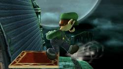 Burla hacia abajo Luigi SSBB (1)