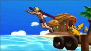 Créditos Modo Leyendas de la lucha Shulk SSB4 (3DS)