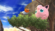 Créditos Modo Senda del guerrero Jigglypuff SSB4 (Wii U)