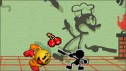 Créditos Modo Senda del guerrero Mr. Game & Watch SSB4 (3DS)