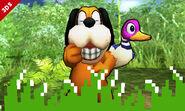 El Dúo Duck Hunt en Llanuras de Gaur (3DS)