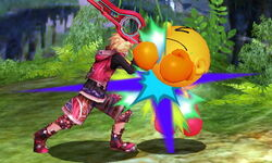 Golpiza Shulk SSB4 (3DS)