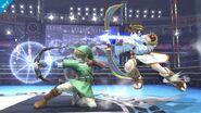 Link y Pit SSB4 (Wii U)