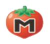 Pegatina de Maxi Tomate SSBB