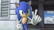 Pose de espera Sonic SSBU