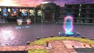 Sala de descanso en SSB4 (Wii U)