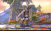 Burla hacia arriba Lucina SSB4 (3DS)