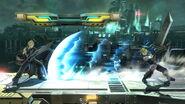 Haz espada con el límite al máximo Cloud (1) SSB4 (Wii U)