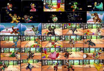 K.O. de pantalla SSB4 (3DS)