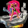 Trofeo de Samus (armadura gravitatoria) SSB4 (3DS)