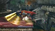 Ataque de recuperación desde el borde de Ike SSB4 (Wii U)