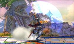 Ataque fuerte lateral Lucina SSB4 (3DS)