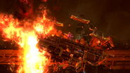 Efecto de Ifrit en Midgar (3) SSB4 (Wii U)