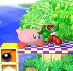 Lanzamiento delantero de Kirby (1) SSBM
