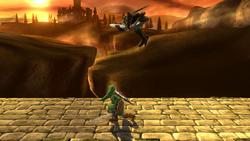 Lanzamiento superior de Link (1) SSB4 (Wii U)