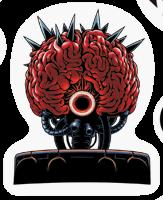 Pegatina Cerebro Madre SSBB