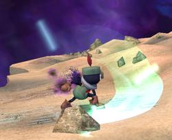 Prímido espadachín atacando (1) ESE SSBB