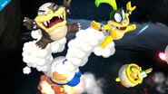 Algunos Koopalings en SSB4 (Wii U)