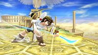 Ataque Smash hacia abajo (2) Pit SSB4 Wii U