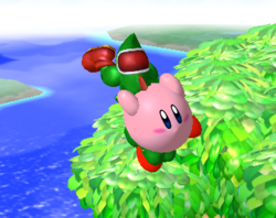 Lanzamiento delantero de Kirby (2) SSBM