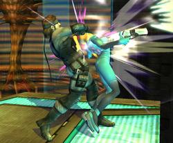 Pequeños golpes-Snake SSBB