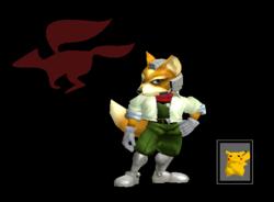 Pose de victoria Fox B (3) SSBM