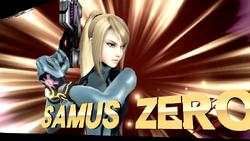 Pose de victoria de Samus Zero (3-2) SSB4 (Wii U)