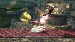 Tajo defensivo (4) SSB4 (Wii U)