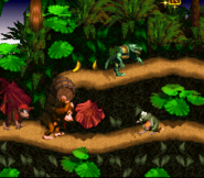 Barril en Donkey Kong Country