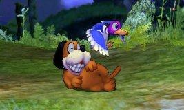 Burla hacia arriba de Dúo Duck Hunt SSB4 (3DS)