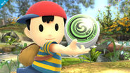 Ness en el Vergel de la Esperanza SSB4 (Wii U)