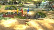 Reagrupación de Pikmin (2) SSB4 (Wii U)