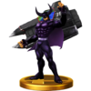 Trofeo de Black Shadow SSB4 (Wii U)