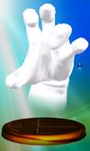 Trofeo de Crazy Hand SSBM