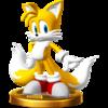 Trofeo de Tails SSB4 (Wii U)