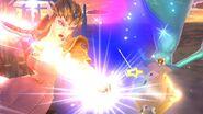 Zelda y Estela en el Campo de batalla SSB4 (Wii U)